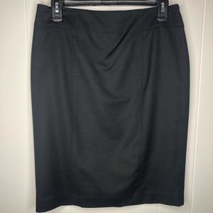 NWT Talbots black lined pencil skirt. Size 6
